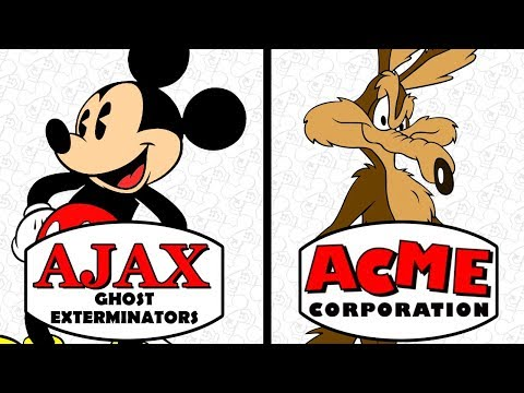 Ajax and ACME: Fake Cartoon Companies