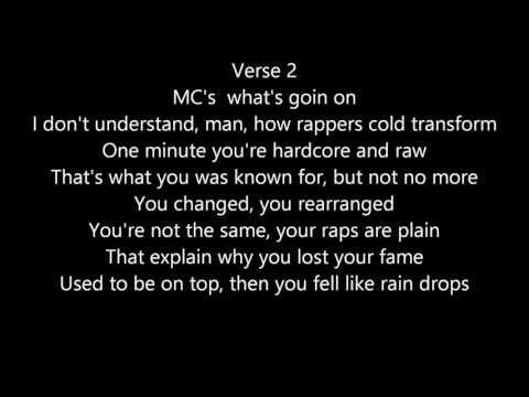 Big L - I Dont Understand It Lyrics