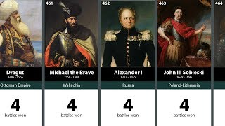 500 Greatest Generals in History: 516-401