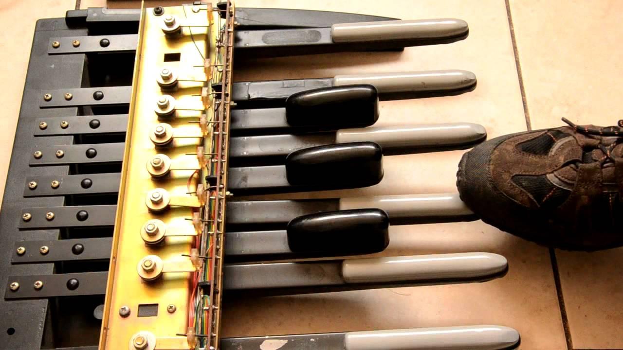 Bass Pedal MIDI Controller