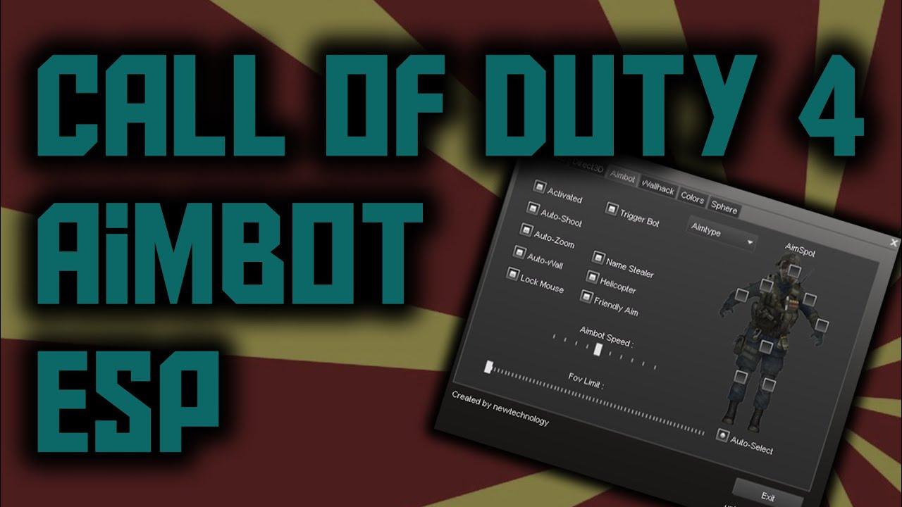 Tutorial how to hack aimbot call of duty 4 modern warfare w