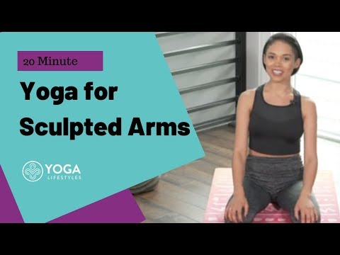 yoga-for-weight-loss:-sculpt-sexy-arms- -20-minute-yoga-flow
