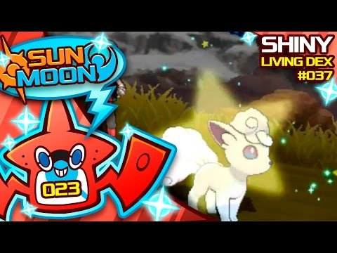 INSANELY EPIC SHINY ALOLAN VULPIX! OVER 1000 EGGS! Quest For Shiny Living Dex #037 | Shiny #23