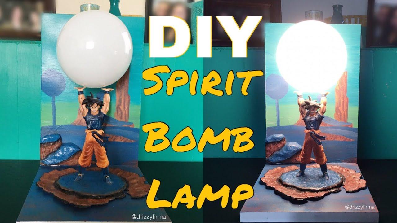DIY Spirit Bomb Lamp (Dragon Ball Z)   YouTube