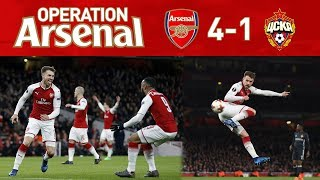 ARSENAL 4-1 CSKA MOSCOW - WENGERBALL AT IT'S FINEST!