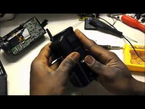 HD camcorder LCD repair