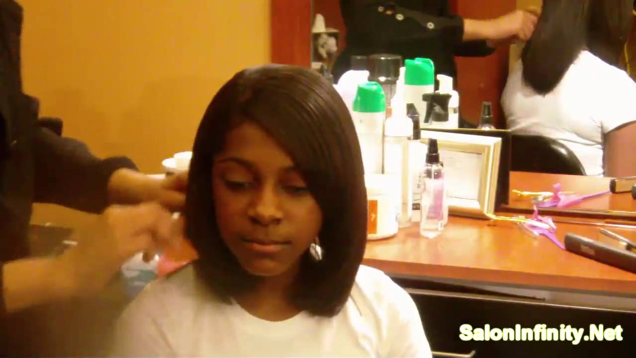Black Hair How To Wrap Your Hair Saloninfinity Youtube