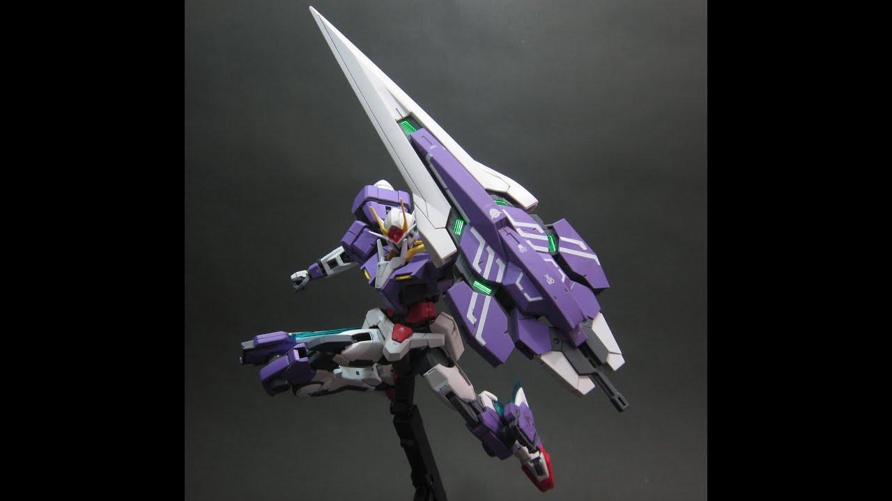 Mg Gundam 00 Seven Sword G Dynamic Pose Slideshow Part 2