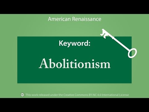 Keyword: Abolitionism