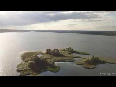 Остров на Печенежском водохранилище