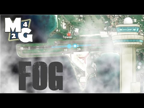 Foggy Weather in Tower!3D Pro! | ATC Simulator | TIST- St. Thomas Airport