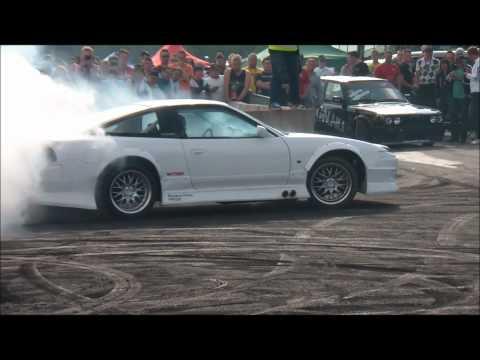 Gatebil Mantorp Park 2011 - Burnoutshow