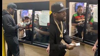 50 Cent Bless Burger King Employees With $10k Each