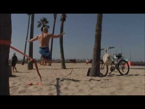 Slackline Lunges with Genesis Sequence