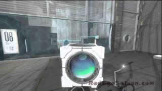 Portal 2 Chapter 2 - GLaDOS Test Chamber 8