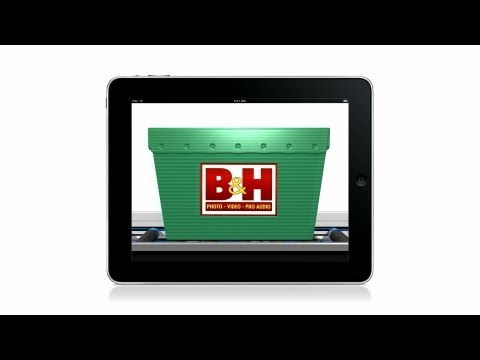 B&H Photo Video's New iPad App