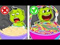 Lion Family 🍝 Journey To The Center Of The Earth 30. Rainbow Pasta  Cartoon For Kids