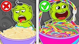Download Lion Family 🍝 Journey to the Center of the Earth #30. Rainbow Pasta | Cartoon for Kids Mp3 and Videos
