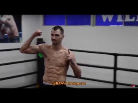 Viktor Postol FULL Media Workout
