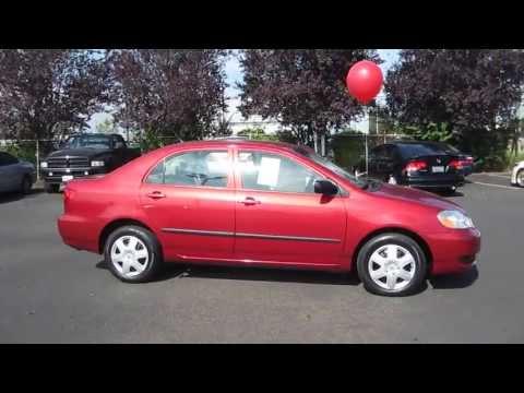 2006 Toyota Corolla, Maroon - STOCK# 731061