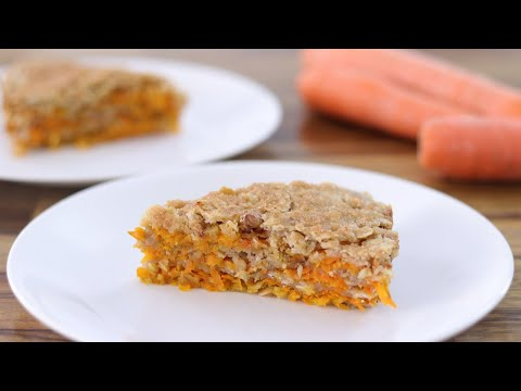 Easy Carrot Oatmeal Cake Recipe