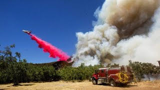 12,000-acre Apple Fire burns out of control in Riverside County I ABC7