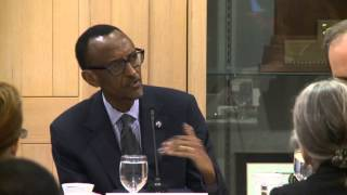 President Kagame speaking at Brandeis University in Boston- 23 April 2014 (2/2)