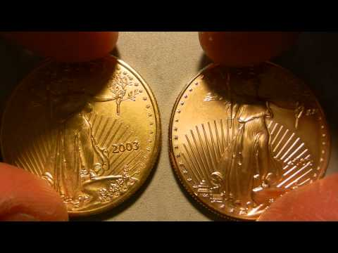 1 Oz Gold Eagle- FAKE Vs REAL