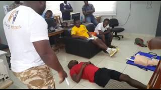 First Aid and Basic Life Support by Erasmus Quartey