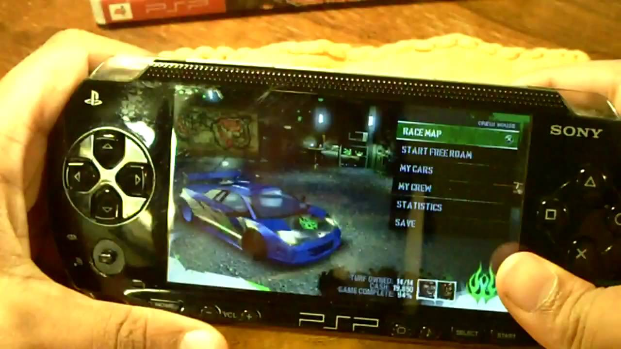 Psp Need For Speed Carbon Own The City Game Review Youtube