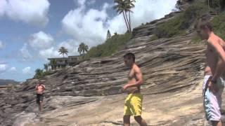 Spitting Cave Hawaii Kai 5 Jumps
