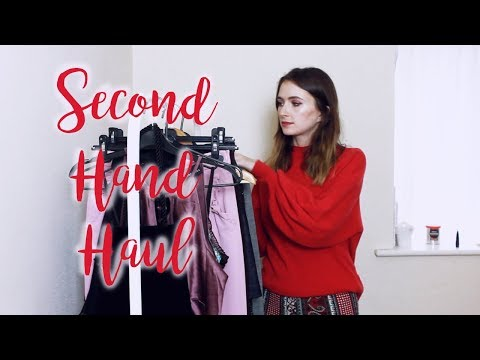 SECOND HAND HAUL | VINTAGE & CHARITY SHOPPING