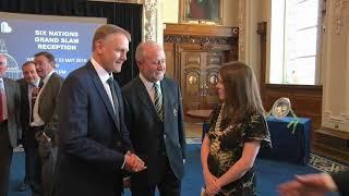Lord Mayor hosts Grand Slam winning Irish Rugby team