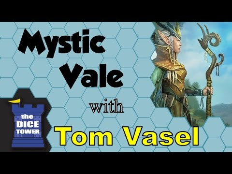 Mystic Vale Review - with Tom Vasel