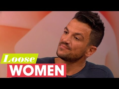 Peter Andre Reveals He Weighs His Kids | Loose Women