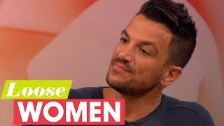 Peter Andre Reveals He Weighs His Kids   Loose Women