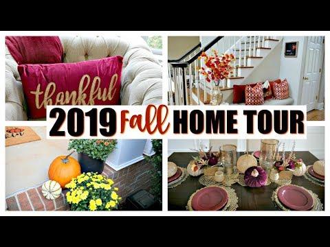 2019 FALL HOME TOUR   GLAM TRADITIONAL HOME   THREAD TANK   FALL 2019