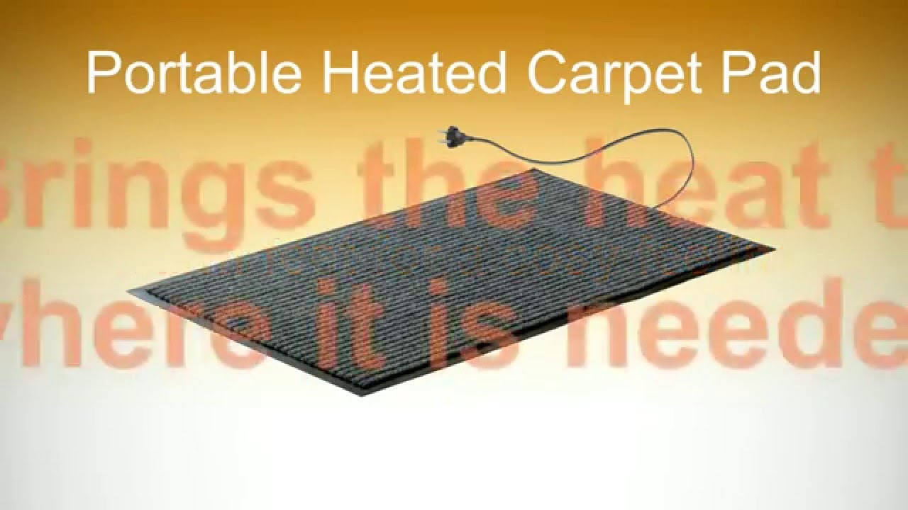 Heated Carpet Pad Electric