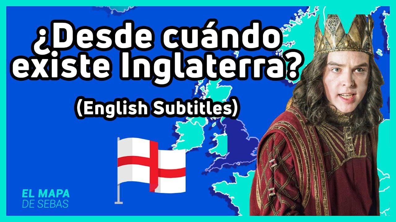 🏴La FORMACIÓN de INGLATERRA | The FORMATION of ENGLAND ft. History in a Nutshell 🏴