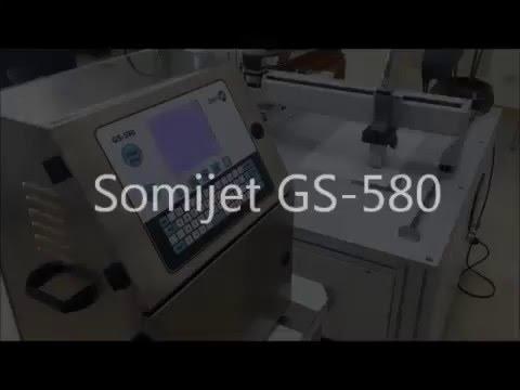 SOMIJET GS-580 CIJ Inkjet Printer_XY Table
