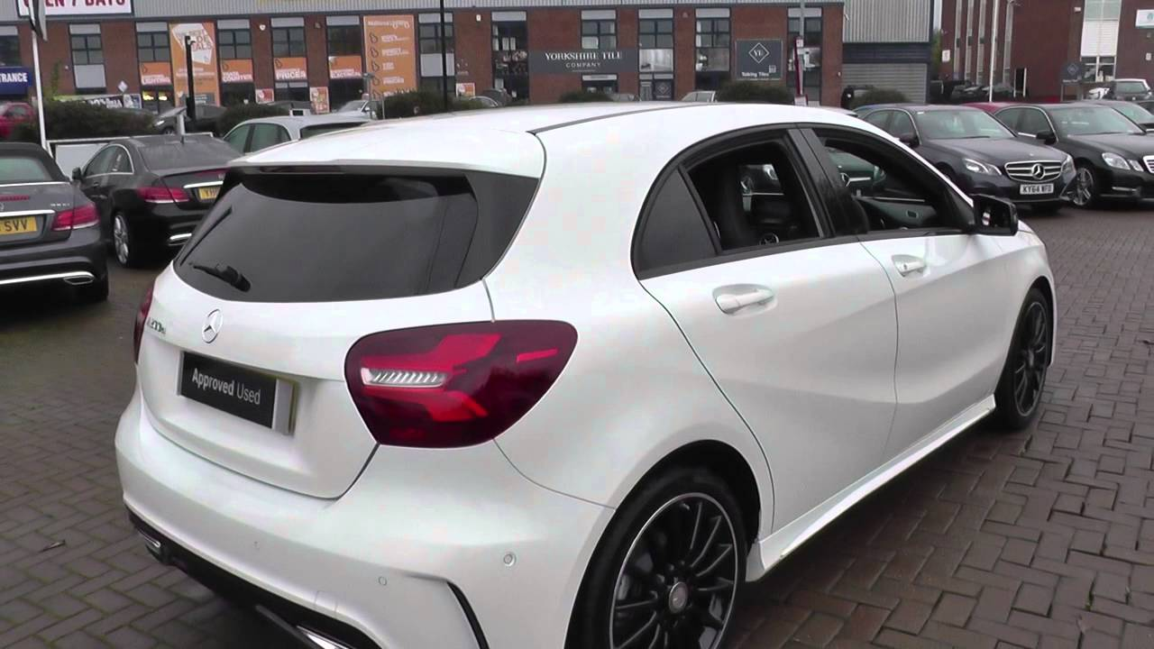 mercedes benz a class a200d amg line premium 5dr auto u24122 youtube. Black Bedroom Furniture Sets. Home Design Ideas