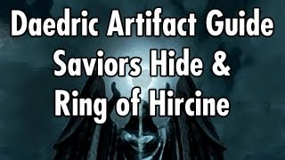 Video Skyrim - Artefatos Daedricos - Ring of Hircine e/ou Savior's Hide (05) download MP3, 3GP, MP4, WEBM, AVI, FLV Februari 2018