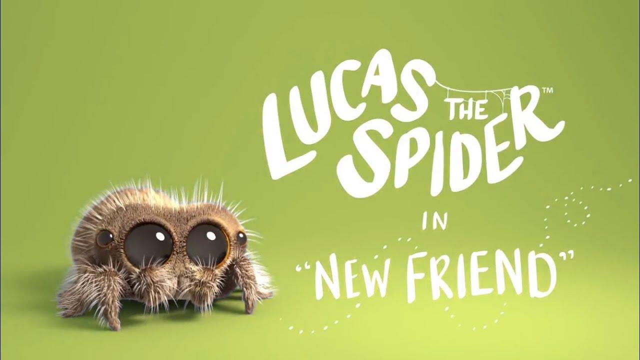 """Lucas a Aranha em """" Meu novo Amigo"""" episódio dublado em português"""