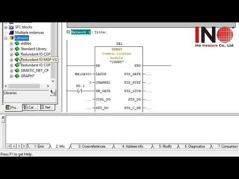 Hướng dẫn cách đọc xung tín hiệu của các loại Encoder với PLC s7 300 sử dụng ( High Speed Counter)