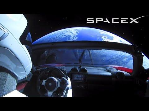 SpaceX Starman - Elon Musk Put a Car in Space
