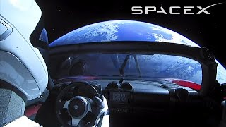 SpaceX Starman - Elon Musk Put a Car in Space