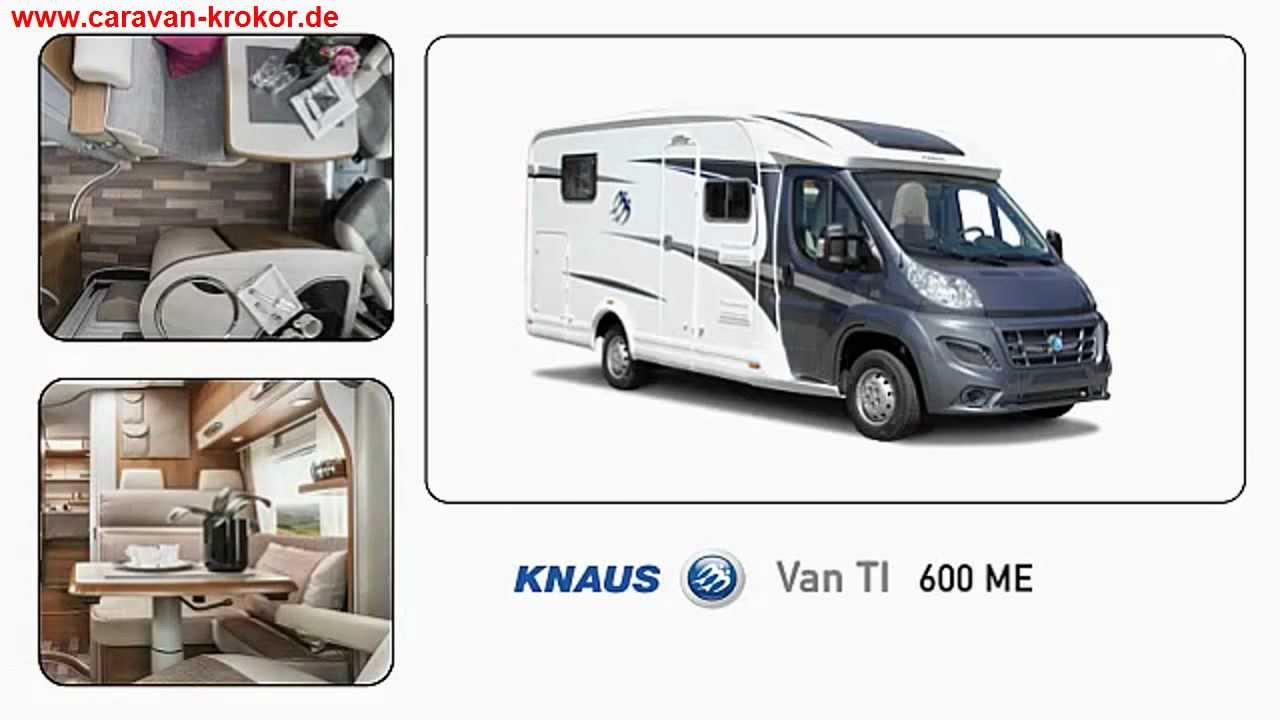 knaus van ti 600 me modell 2013 wohnmobil mit einzelbetten. Black Bedroom Furniture Sets. Home Design Ideas