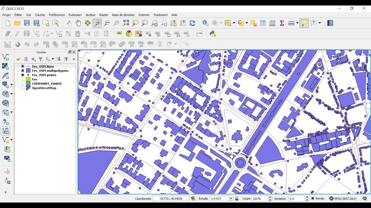 QGIS: Download data from OpenStreetMap in vector format