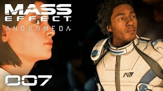MASS EFFECT ANDROMEDA [007] [Die Reise beginnt] [Gameplay Deutsch German] thumbnail