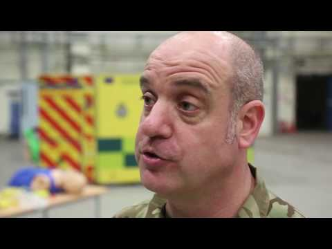 RAF Reserves emergency response medical training
